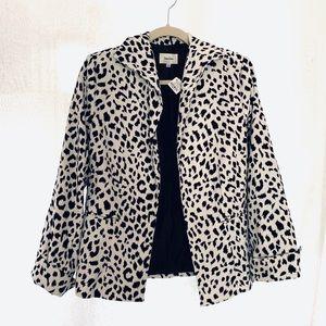 NWT Neiman Marcus animal print blazer - Medium